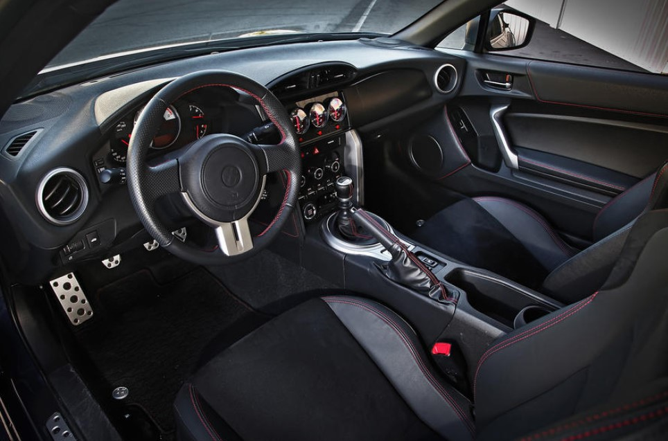 2021 Toyota GT 86 Coupe Interior