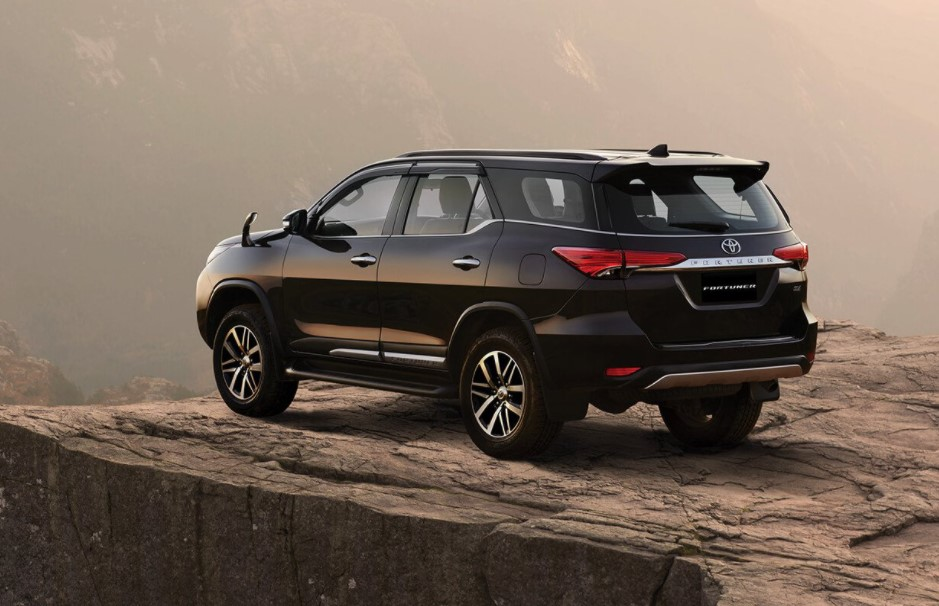 2021 Toyota Fortuner Changes