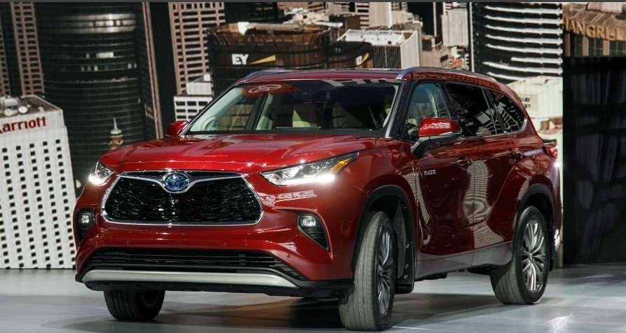 new 2022 toyota highlander release date, spy photo
