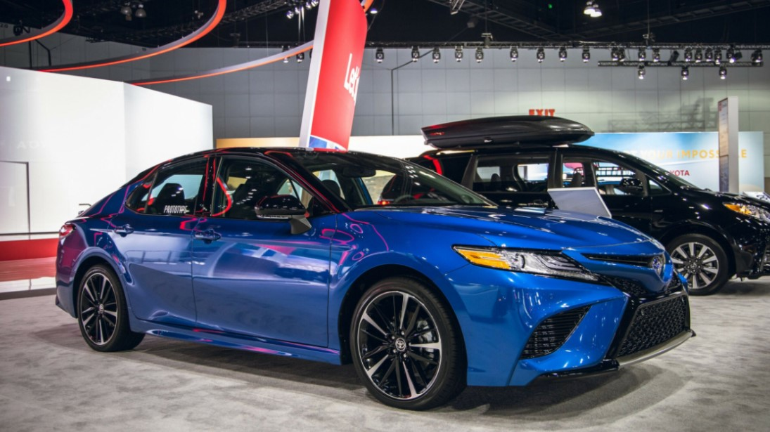 2022 Toyota Camry Color Change