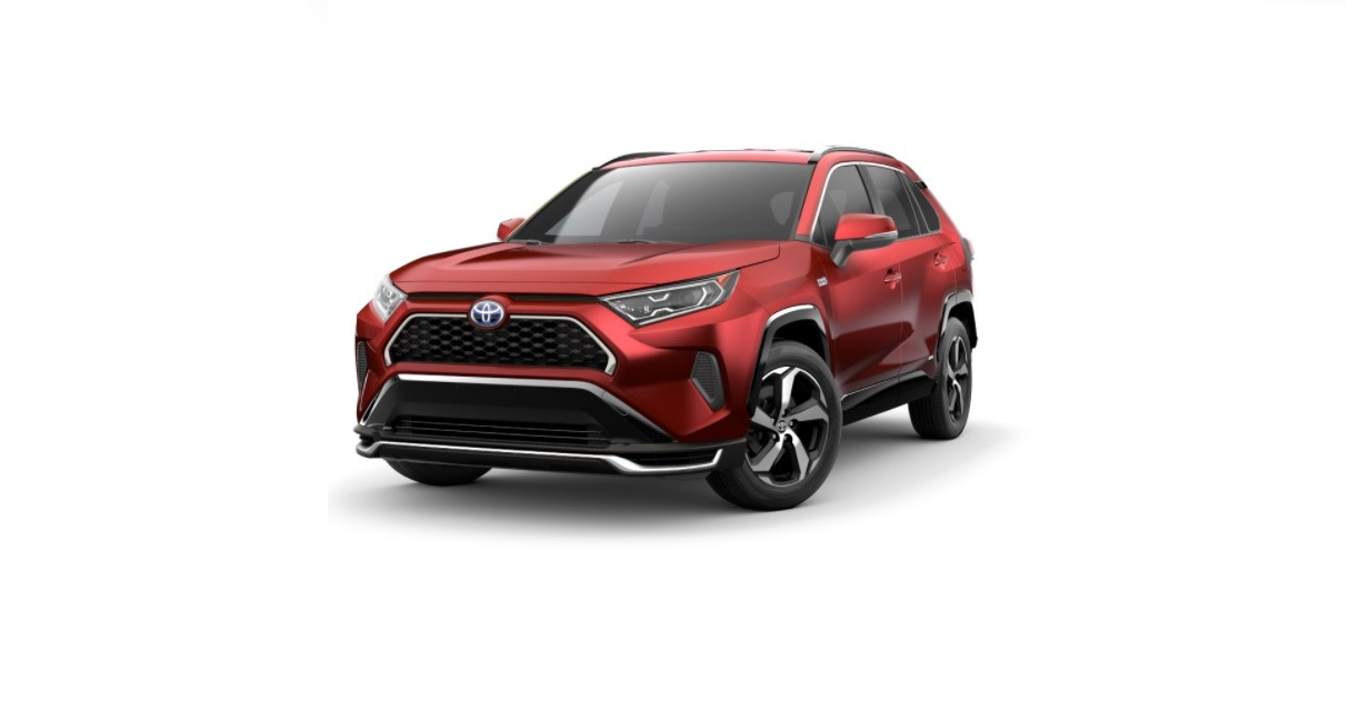 2022 Toyota RAV4 Supersonic Red Color