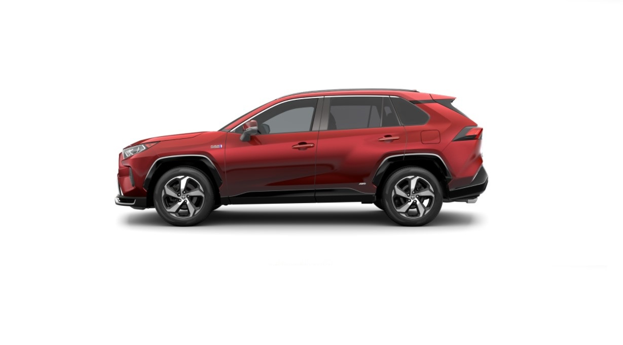 2022 Toyota RAV4 Supersonic Red Specification