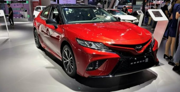 2022 Toyota Camry Gas Mileage